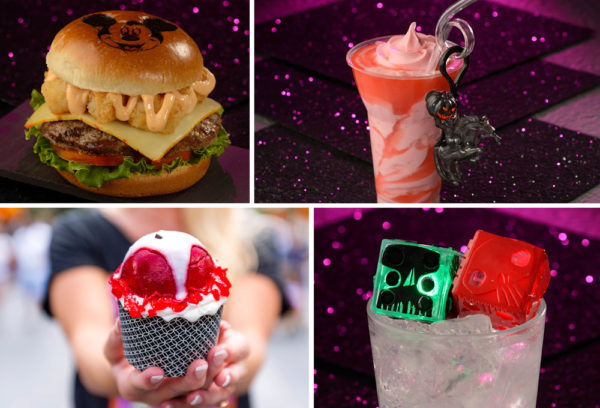 Even more Magic Kingdom treats, including a Mickey Monster Mash Burger. Photo credits (C) Disney Enterprises, Inc. All Rights Reserved