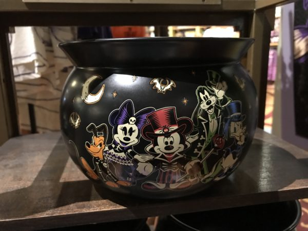This candy bowl shows the 2017 graphic design of the fab five characters.