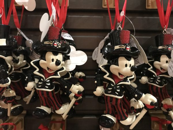 Mickey ornaments for your (Nightmare before) Christmas tree?