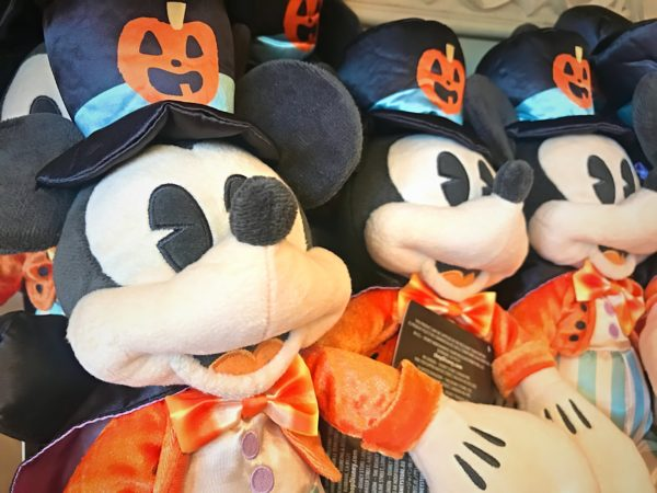 Halloween Mickey plush is $22.99.
