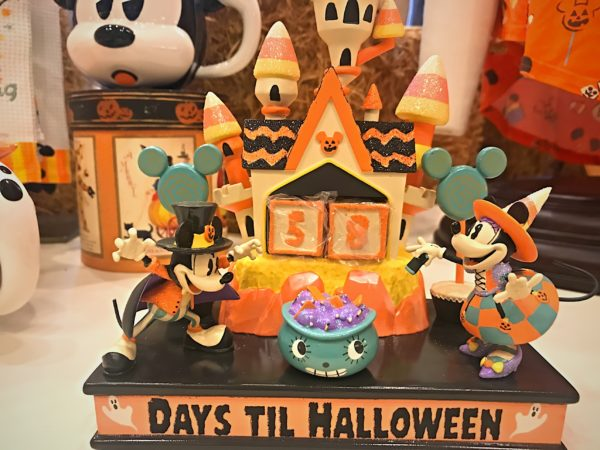 "Festive ""Days to Halloween"" countdown decoration is $49.99."