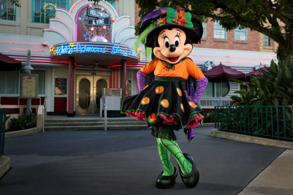 Minnie is ready for the spooky season! Photo credits (C) Disney Enterprises, Inc. All Rights Reserved