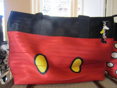 Harveys Purse - Mickey Mouse pants.