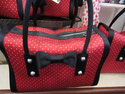 Harveys Purse - Minnie polka dots.