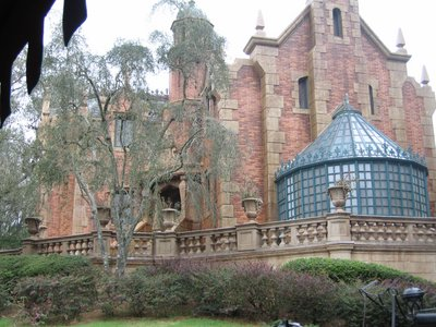 Liberty Square's Haunted Mansion is a must-see Disney attraction.