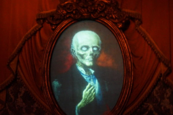Smile for your photo op now available at the Haunted Mansion complements of PhotoPass!