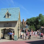 The Haunted Mansion Gets – A Credit Card Sales Stand?