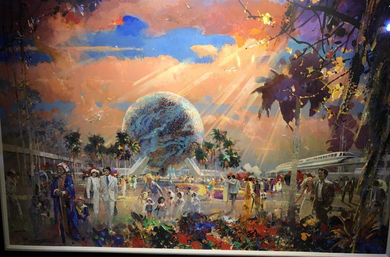 Epcot Festival Of The Arts Artist Installment Herb Ryman