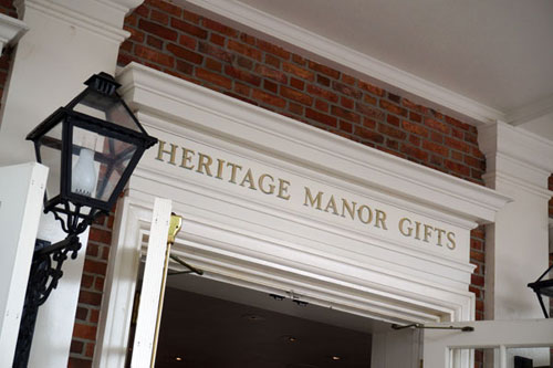 Welcome to Heritage Manor Gifts at the American Adventure.