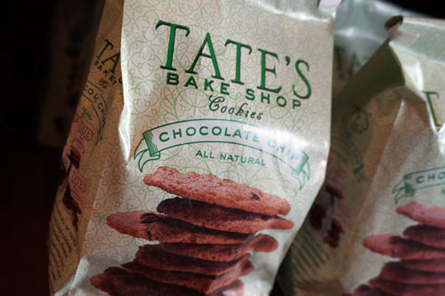 Tate's Bake Shop cookies.