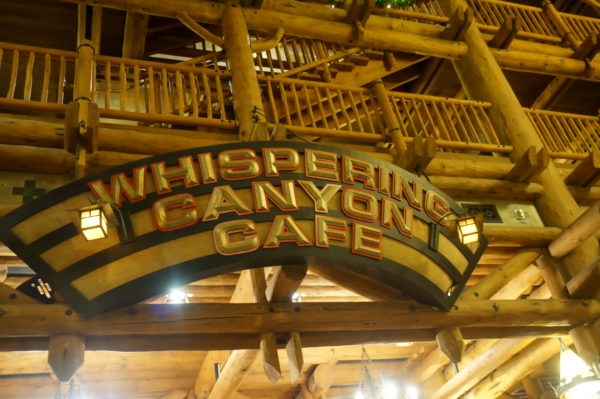 The buffet at Whispering Canyon is a rootin-tootin good time!