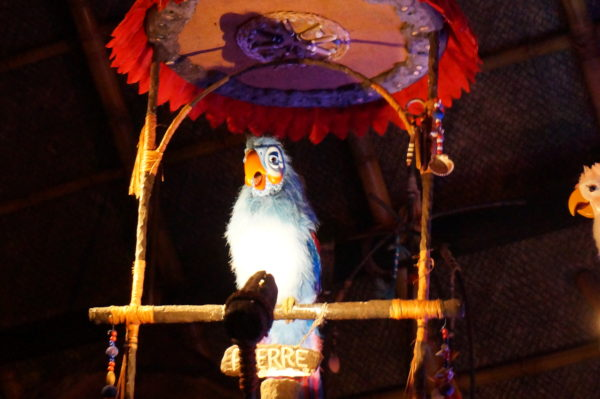 The Enchanted Tiki Room was inspired by the animated bird that Walt found during a trip to New Orleans.