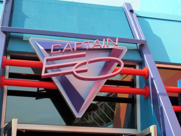 Captain EO was the first 3D attraction in Disney World!