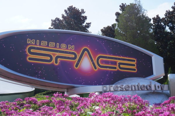 Mission: SPACE gives guests a realistic rocket launch experience!