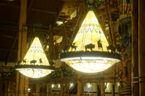 These chandeliers are quite impressive!