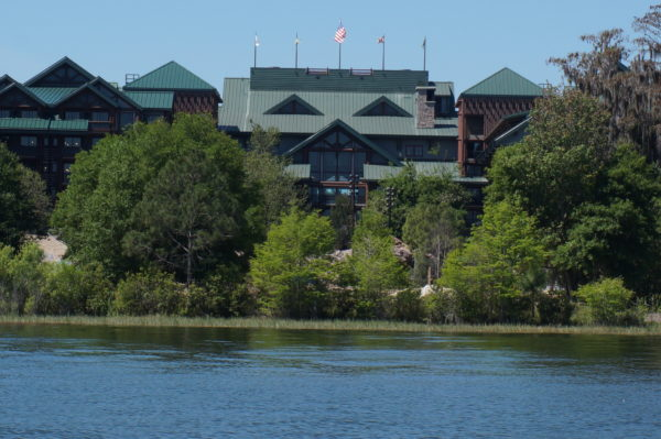 Wilderness Lodge gives the illusion that you are in a remote hunting lodge. In fact, you're very close to lots of things!