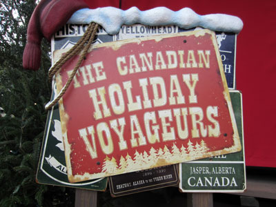 Canadian Holiday Voyageurs Christmas show.