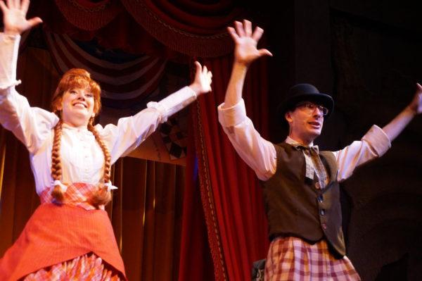 Hoop De Doo Musical Revue is a family-friendly dinner show at Disney's Fort Wilderness Resort!