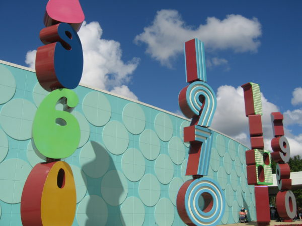 Pop Century is huge with five buildings each dedicated to a different decade.