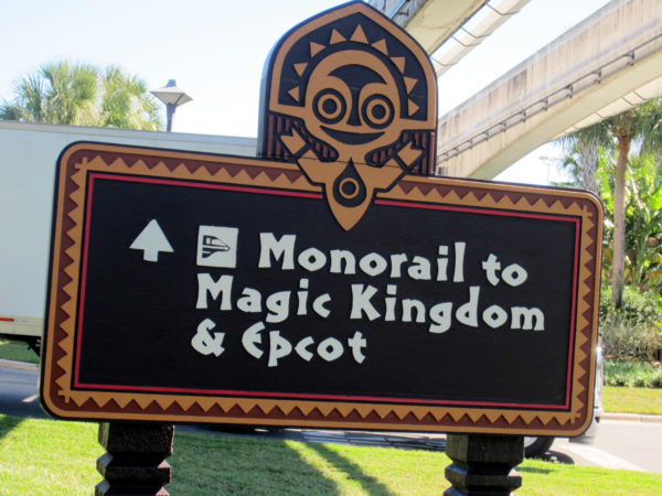 Disney's Polynesian Resort is the most convenient resort on property!