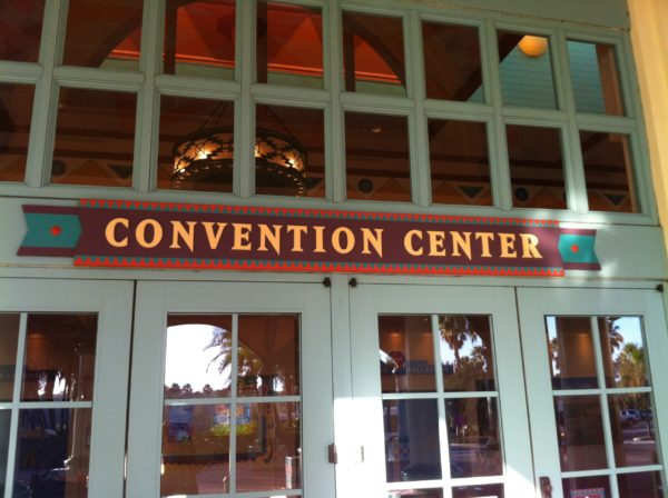 Coronado Springs is a convention hotel, so you might be exposed to - eek - real world stuff!