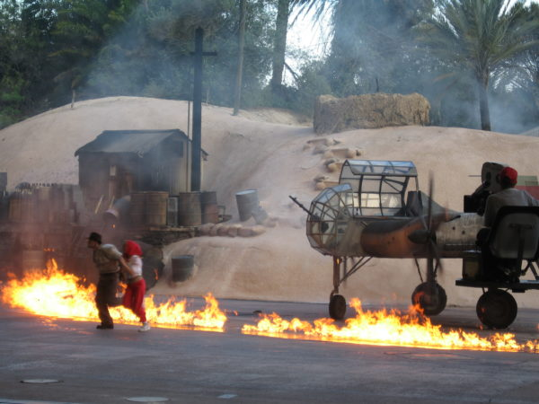 The Indiana Jones Epic Stunt Spectacular shows you how stunts are created in the movies!