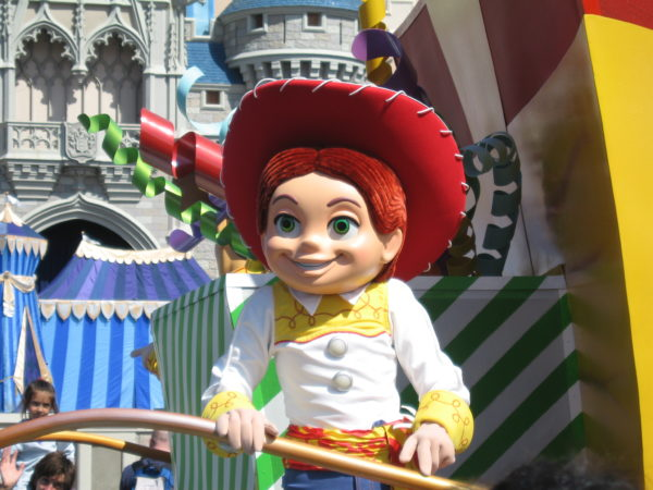 Toy Story characters have been a mainstay in Disney World parades for nearly decade and a half.
