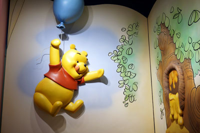 This Pooh with a balloon is fun.