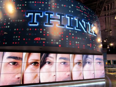 IBM THINK video wall