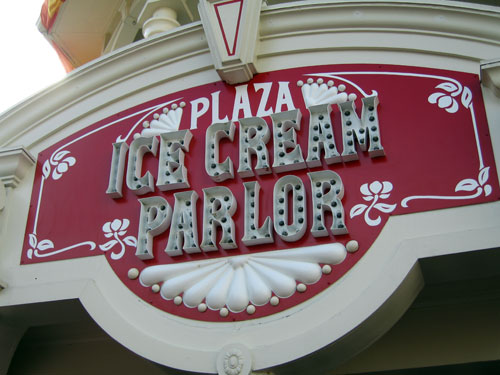 Ice cream on Main Street - what could be better than that?