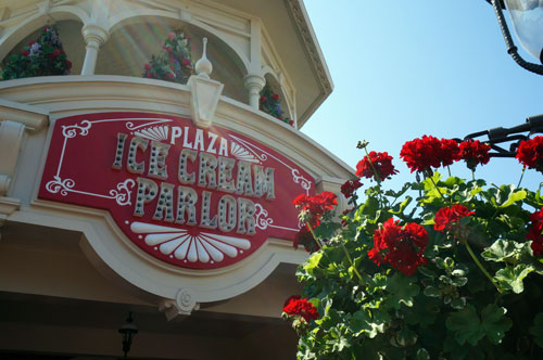 The Plaza Ice Cream Parlor is a must-see on Main Street.