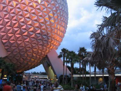 Spaceship Earth is the symbol of Epcot.