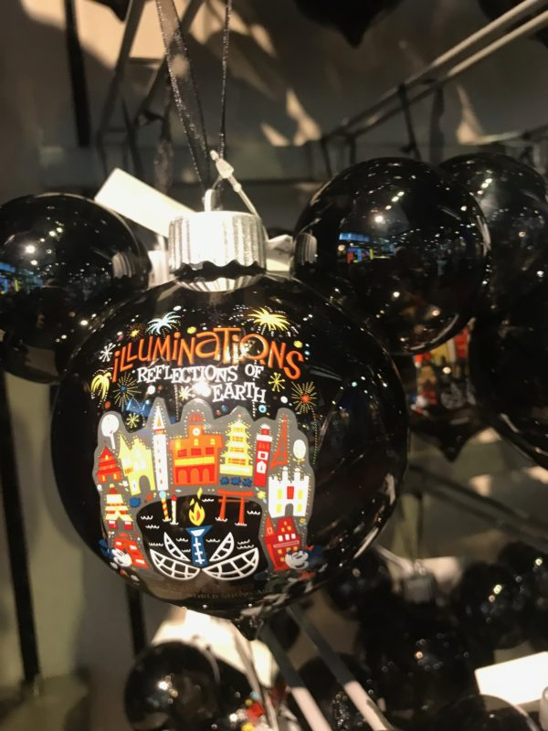 Here's an IllumiNations Mickey-shaped ornament for $27.99.