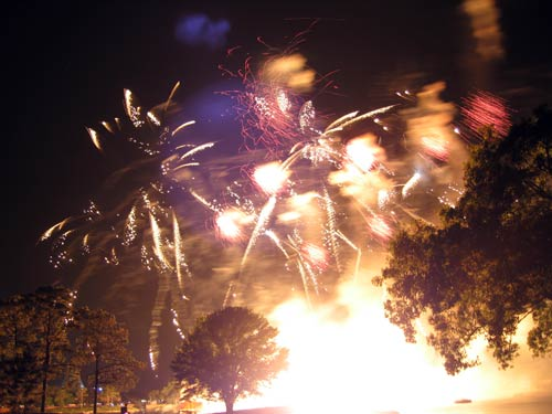 Illuminations throws off a lot of heat.