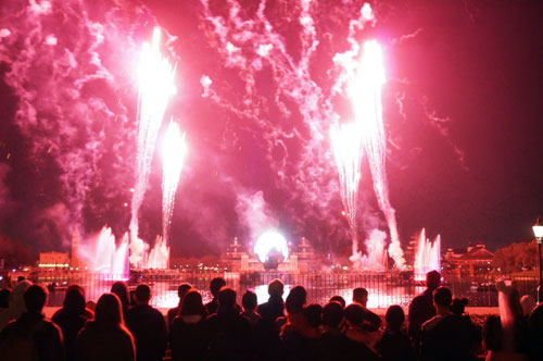 There are plenty of great spots for watching Illuminations.
