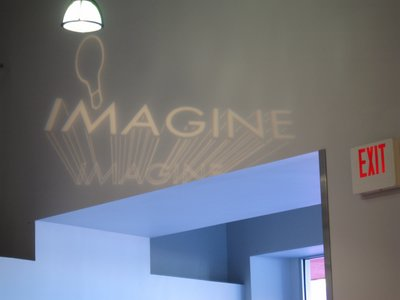 Imagination is key to working as an Imagineer (just as the name says!).