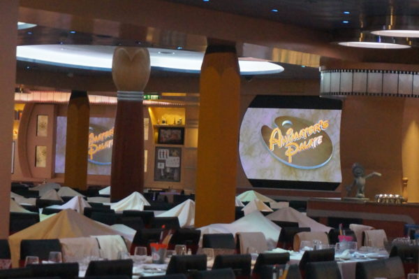 Animators Palate is part of the rotational dining on the Disney Cruise Line and is included in the cost of your cruise!