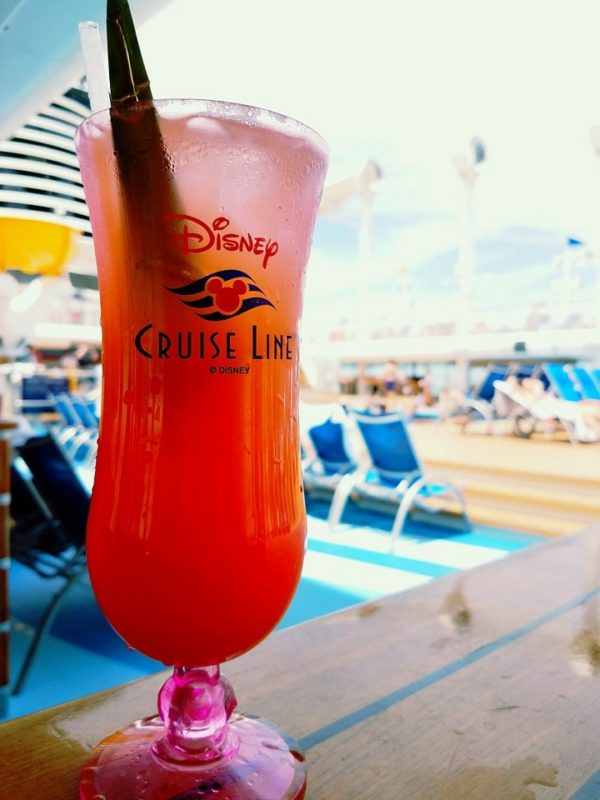All alcohol on the Disney Cruises is extra.