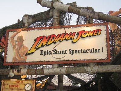 The Indiana Jones Epic Stunt Spectacular has long been a crowd favorite.