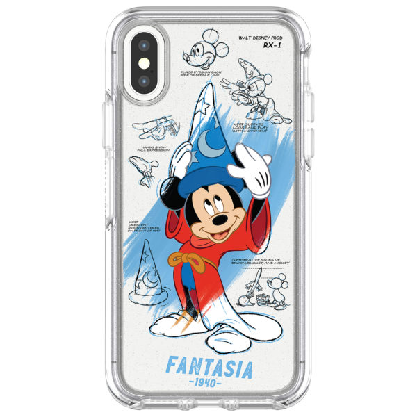 Keep your cell phone protected and looking snazzy with this Sorcerer Mickey IPhone case by Ottorbox. Price $59.99. Photo credits (C) Disney Enterprises, Inc. All Rights Reserved