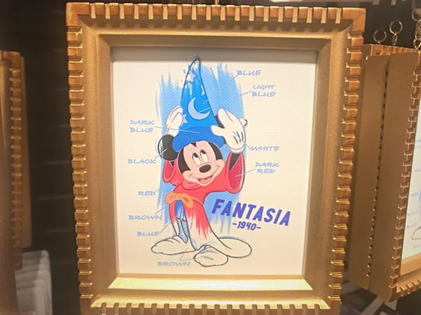 Mickey in Fantasia.