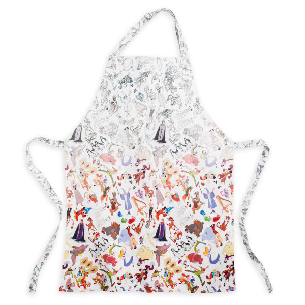 This Disney Ink & Paint Apron for Adults will protect your clothing while whipping up your favorite recipes in the kitchen. Price $34.99. Photo credits (C) Disney Enterprises, Inc. All Rights Reserved
