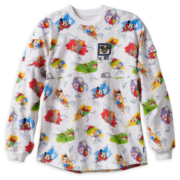 Who wouldn't want to be seen in this colorful Ink & Paint Spirit Jersey for Adults? Price: $64.99. Photo credits (C) Disney Enterprises, Inc. All Rights Reserved