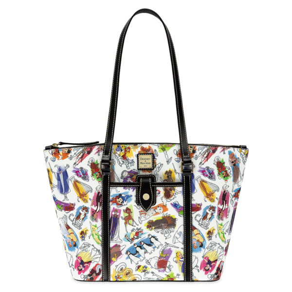 Carry all your park necessities in this great looking classic tote by Dooney & Bourke. Price: $268 Photo credits (C) Disney Enterprises, Inc. All Rights Reserved