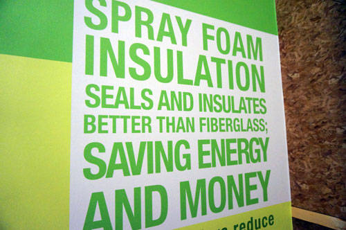 Green building saves money.