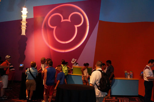FastPass+ reservations center in Innoventions.