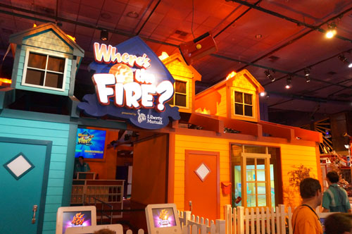 This is a place to learn about fire safety.