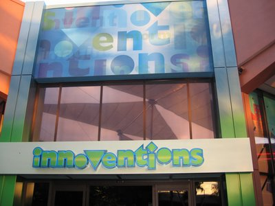 You can explore many different exhibits under one roof at Innoventions.
