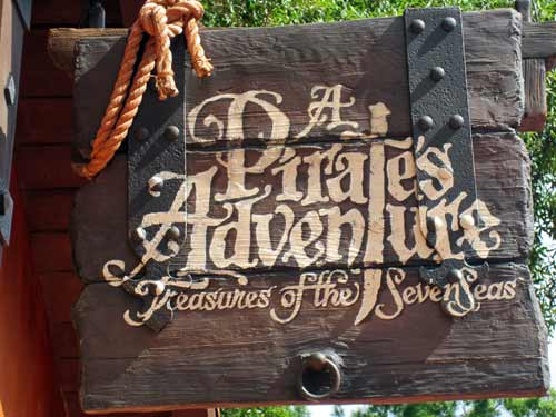 A Pirates Adventure is great for young kids since it's short and requires little effort.
