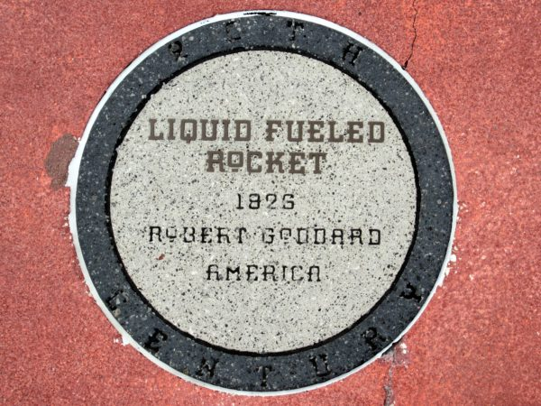 Robert Goddard invented the liquid fueled rocket in 1926. The benefit of high density, low volume tanks allowed for better efficiency when it came to saving space.Goddard was the first to launch a liquid fueled rocket into flight.